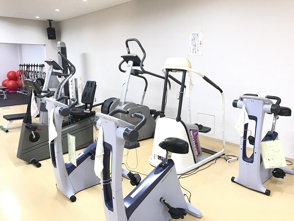 芦屋市立体育館・青少年センター トレーニングルームの画像
